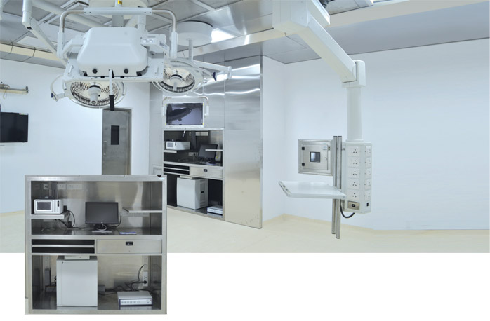 AMENSCO Surgical Support Systems - Modular Operation Theatre